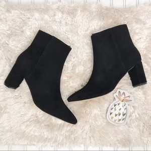 Nine West NWOT Trin Suede Heeled Bootie Size 11